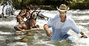 Mel Gibson directing Apocalypto