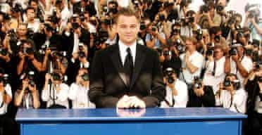 Leonardo DiCaprio at Cannes 2007
