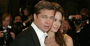 Brad Pitt Angelina Jolie Cannes 2007