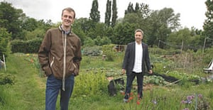 Carl Hunter and Frank Cottrell Boyce, creators of Grow Your Own