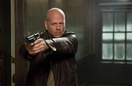 Bruce Willis as John McClane in Die Hard 4.0