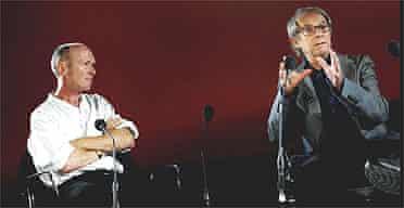 Paul Laverty and Ken Loach at BFI Southbank