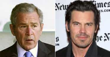George Bush and Josh Brolin
