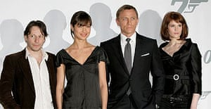 Cast of James Bond, Quantum of Solace
