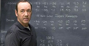 Kevin Spacey in the film 21