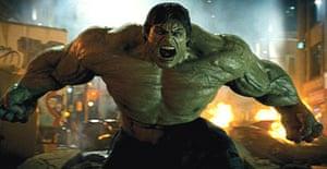 Edward Norton stars as The Incredible Hulk