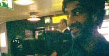 Vikash Dhorasoo filming for Substitute