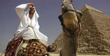 Morgan Spurlock in Where in the World is Osama bin Laden?