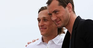Jude Law and Jeremy Gilley