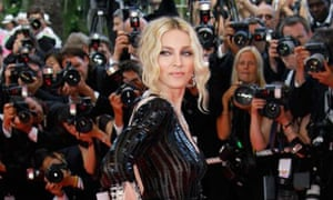 Madonna on the red carpet at Cannes 2008