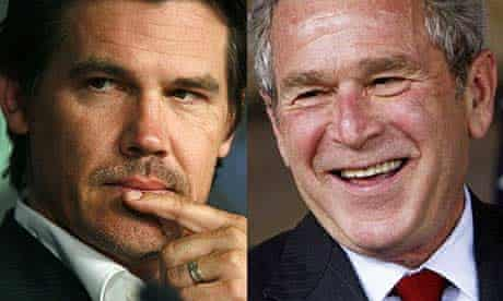 Josh Brolin and George Bush