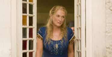 Meryl Streep in film musical Mamma Mia