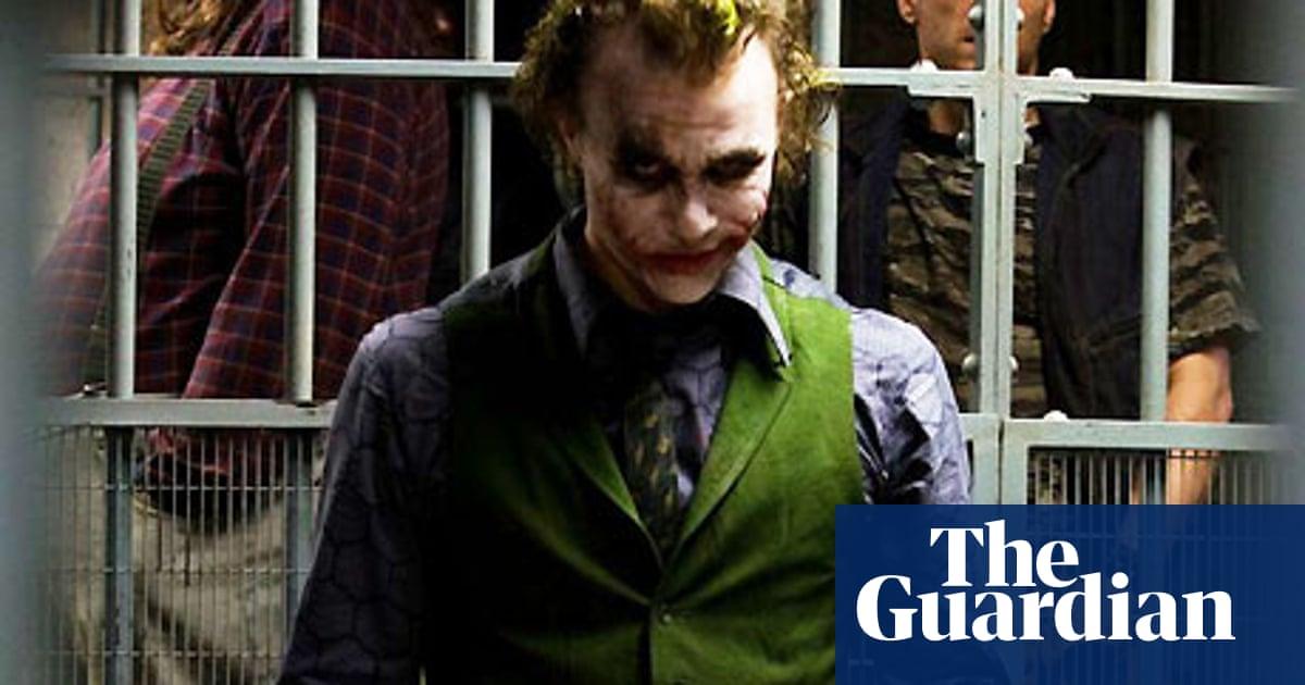 Fashion Shoot Heath Ledger As The Joker Film The Guardian