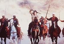 Battle scene in Asoka