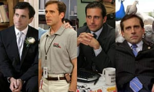 Steve Carell in various suits