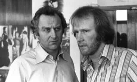 John Thaw and Dennis Waterman in The Sweeny