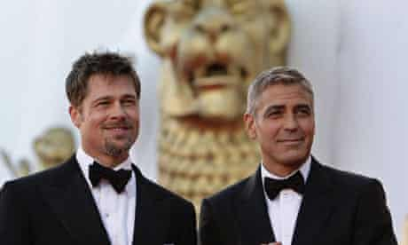 George Clooney and Brad Pitt at Venice 2008