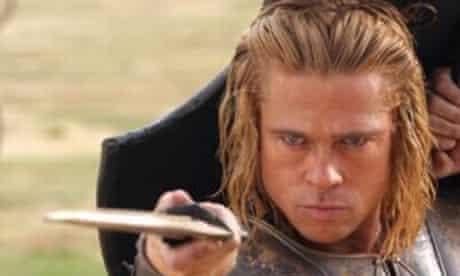 Brad Pitt in Troy