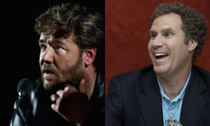 Russell Crowe and Will Ferrell