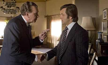 Frank Langella and Michael Sheen in Frost/Nixon