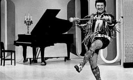 Liberace, pictured in 1972