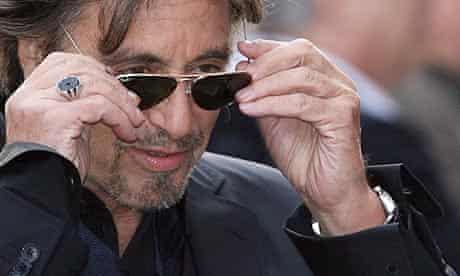 Al Pacino at the London premiere of Righteous Kill