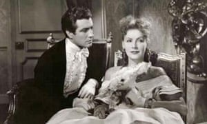 Robert Taylor and Greta Garbo in Camille