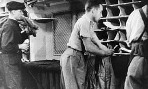 Scene from the GPO Film Unit's Night Mail