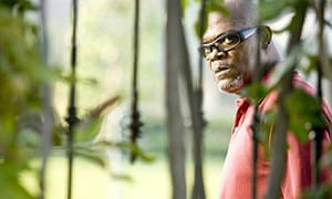 Samuel L Jackson in Lakeview Terrace