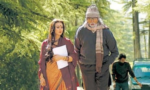 Preity Zinta and Amitabh Bachchan in The Last Lear