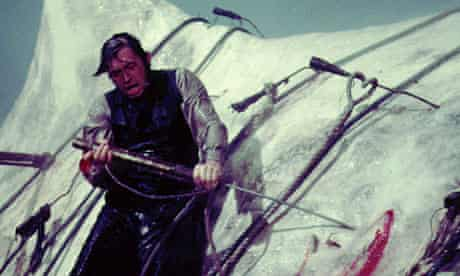 Gregory Peck in John Huston's Moby Dick (1956)