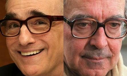 Martin Scorsese and Jean-Luc Godard