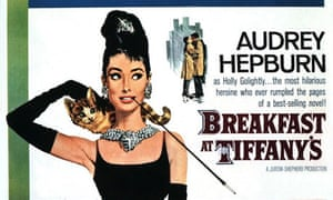 The poster for Breakfast at Tiffany's