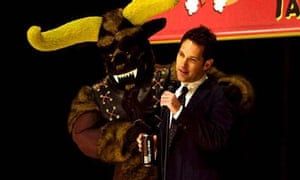 A scene from the film Role Models, with Paul Rudd
