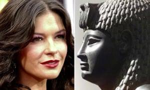 Catherine Zeta-Jones and Cleopatra