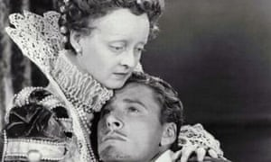 Bette Davis and Errol Flynn in The Private Lives of Elizabeth and Essex (1939)