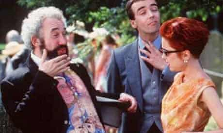 Simon Callow in Four Weddings and a Funeral