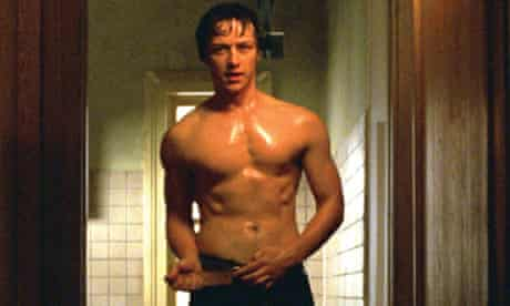 James McAvoy in Wanted