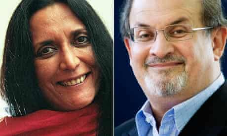Deepa Mehta and Salman Rushdie