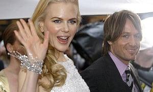 Nicole Kidman and Keith Urban at the world premiere of Australia