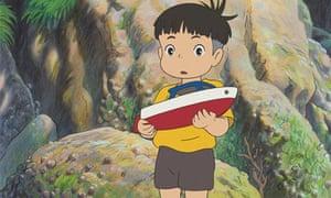 Still from Hayao Miyazaki's Ponyo on the Cliff (2008)