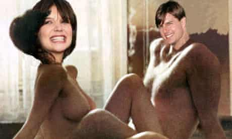 Katie Holmes and Tom Cruise in Last Tango in Paris