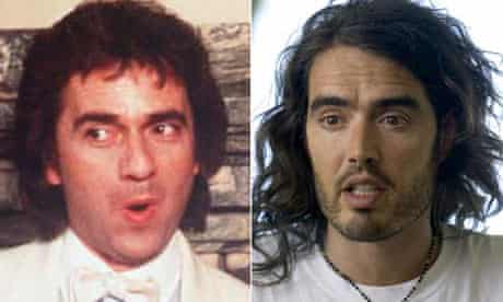 Dudley Moore and Russell Brand