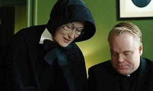 Meryl Streep and Philip Seymour Hoffman in Doubt