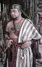 Edward G Robinson as Dathan in The Ten Commandments (1956)