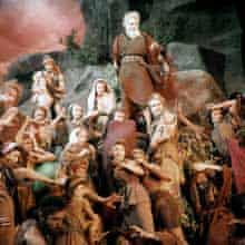 Moses and his people in The Ten Commandments (1956)