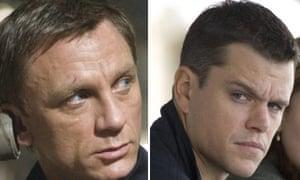 James Bond and Jason Bourne