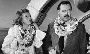 Martha Gellhorn and Ernest Hemmingway in 1941