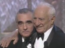 Martin Scorsese and Elia Kazan