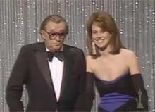 Robert Mitchum and Sigourney Weaver